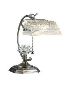 (Dale Tiffany GT12208 Althea Desk Lamp, Satin Nickel)