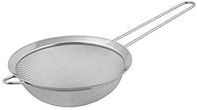 EUROXANTY® Colador de Acero Inoxidable | Malla Muy Fina | para Todo Tipo de Alimentos | Resistente al Desgaste | Fácil Limpieza | 10 cm