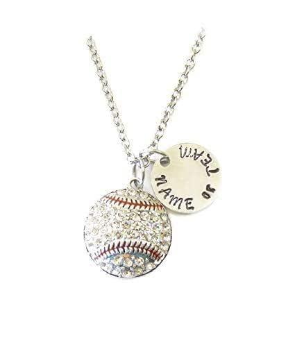 Baseball Player Gifts Senior Gifts Baseball Mom Gift Customizable Baseball Player Necklace Graduation Gifts Baseball Mom Necklace