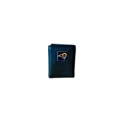 Perfect Jewelry Gift NFL Rams Tri-fold Wallet by Jewelry Brothers Gifts