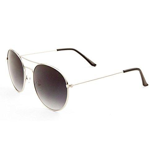 MLC Eyewear ® Retro Vintage Double Bridge Round Aviator Fashion Sunglasses in - Sunglasses Chloe Vintage