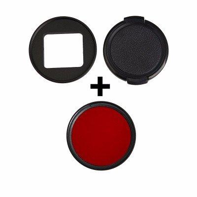 HolaFoto 52mm Red Filter for GoPro Hero6 GoPro Hero 5