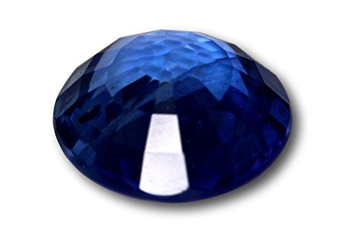 Saphir véritable de Madagascar 1,70 carat, avec certificat de laboratoire ¯ 7,1 x 3,7 mm