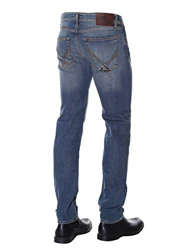 529 Unica In Superior Rogers Var Weared Jeans Roy Italy Strecth Denim Made 6RpwA