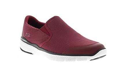 Skechers Mens 52961_BBK Red Size: 9