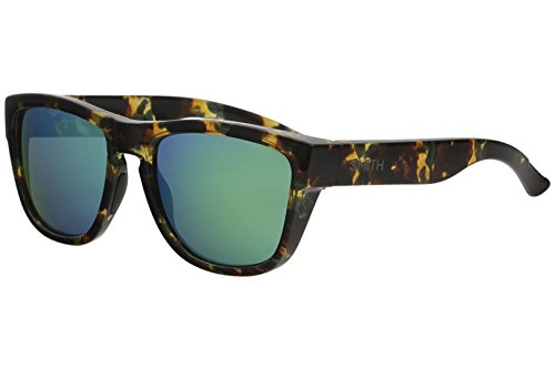 Smith Clark WK7 AD Green Havana Plastic Sunglasses Green Mirror Polarized Lens by Smith