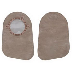 New Image 2-Piece Closed-End Pouch 1-3/4'', Beige - 60 Each / Box