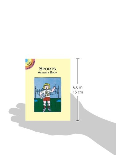 Sports Activity Book (Dover Little Activity Books)