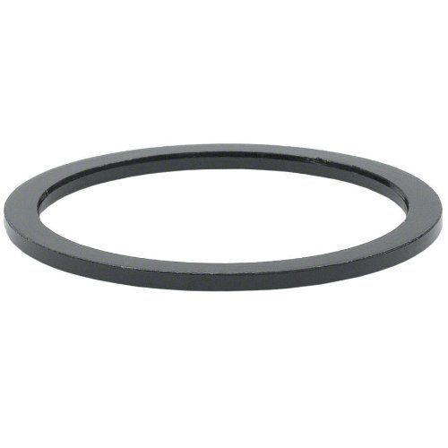 Wheels Manufacturing 1-1/8-Inch Spacer (Black/1.5mm, Bag of 5)