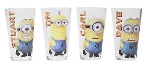 [Despicable Me Minion Made Glassware set] (Despicable Me Glasses)