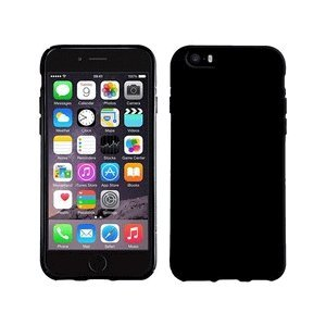 PEDEA Soft TPU Case (glatt) f. Apple iPhone 5/ 5S/ SE, Schwarz