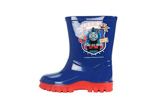 Boys Thomas The Tank Engine PCV Wellington Boots UK 9 Blue