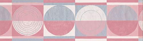 CT78164 Circles Squares Wallpaper Border 7
