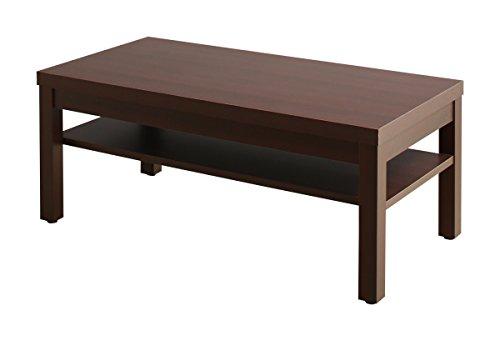 応接室家具 サイドテーブル (W55) ダークブラウン【AC083015】 B07BKTR8J1 サイドテーブル:W55  サイドテーブル:W55