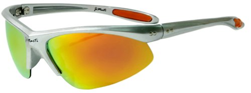 Jimarti JMP8 Polarized Sunglasses for Golf, Fishing, Cycling & Party (Silver & - Sunglasses Rally