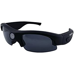 Coleman G3HD-SUN VisionHD Full High Definition 1080p HD Video Sunglasses with Interchangeable Polarized Lenses (Black)
