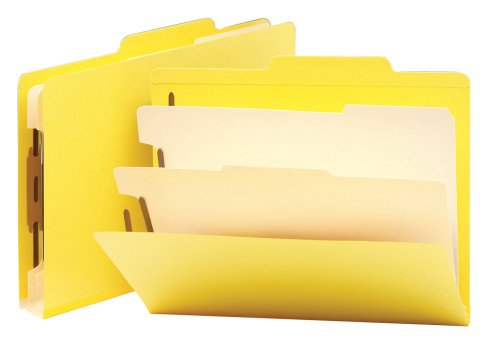 Smead Classification File Folder, 2 Divider, 2