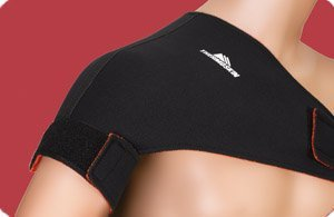 Thermoskin Sport Shoulder Support, Universal, Black, X-Small