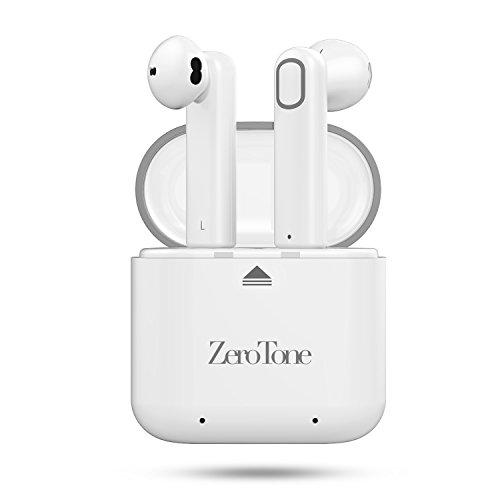 Wireless Earbuds, ZeroTone Dual Bluetooth Headphones V4.2 True Mini In-Ear Headsets Stereo...