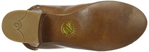 Hudson Iris - Botas de cuero Mujer Beige - marrón
