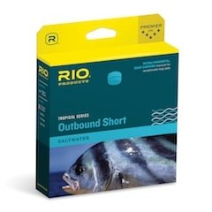 RIO Products Fly Line Tropical Outbound Short Wf10F Dark Olive/Ivory, Dark-Olive-Ivory