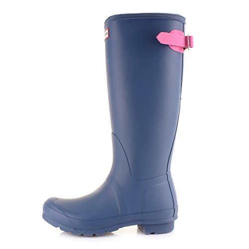 Adjustable Hunter Boots Original Pink Wellington Womens Blue 6q7w8404z