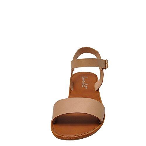 Bonnibel Dotty 1 Sandalo Casual Da Donna Con Cinturino Alla Caviglia Naturale