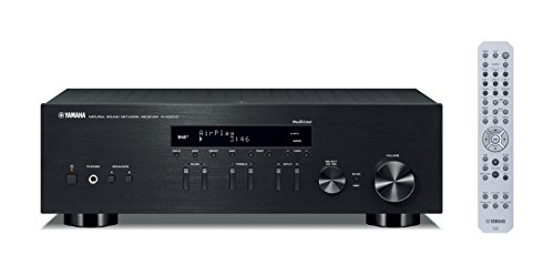 Yamaha RN303D MusicCast Stereo Receiver with Airplay and Bluetooth - Black