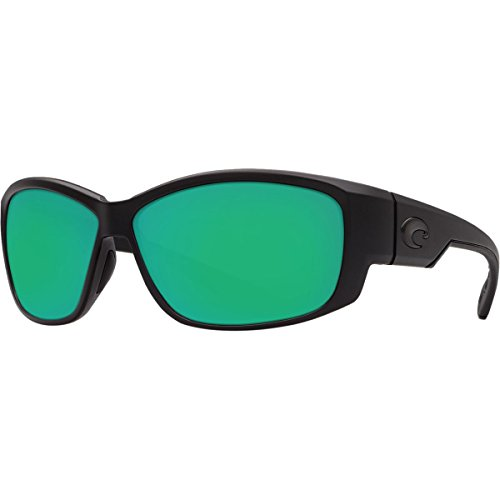 Costa Del Mar Luke 400G Luke, Shiny Black Green Mirror, Green - Hammerhead Costa Del Mar