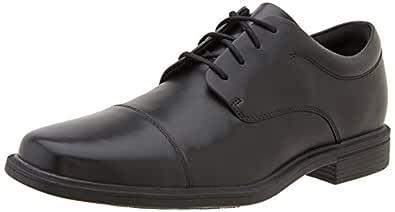 ROCKPORT Men's Ellingwood Cap Toe Oxford-Black-7 M