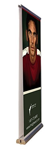 33.5 Inch Double Sided Retractable Banner Stand