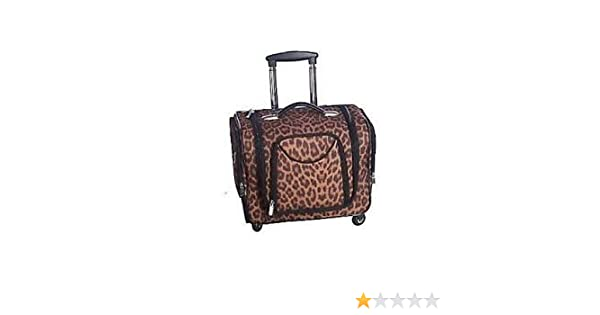fbda399719b2 Amazon.com   Deluxe Weekender Bag w Telescoping Handle by Lori Greiner MANY  SAFARI COLORS OVERNIGHT BAG   Other Products   Everything Else