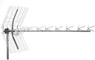 Fracarro Lambda - Antena de televisión (alta ganancia, 16 dB, 9 elementos, 4G, canales 21/60)