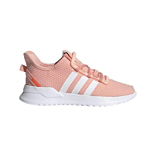 (adidas Originals Unisex U_Path Running Shoe, Glow Pink/White/hi-res Coral, 3 M US Little Kid)