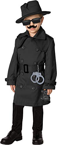 Spy Outfit For Kids (Spy Child Costume Kit)