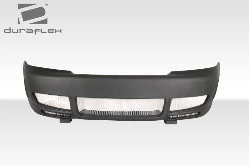 1 Piece Extreme Dimensions Duraflex Replacement for 1996-2001 Audi A4 S4 B5 KE-S Front Bumper Cover