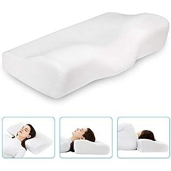 Amazon Com Dream Memory Foam Cervical Pillow Ergonomic