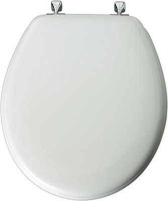 Mayfair 44CP-000 White Enamel Toilet Seat