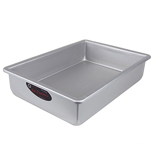 Fat Daddios Anodized Aluminum Sheet Cake Pan, 9 Inch by 13 Inch by 3 Inch