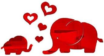 YWLINK Elefante DecoracióN De La Pared Etiqueta Engomada del ...