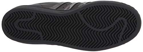 adidas Originals mens Superstar Sneaker, Black/Black/Gold Metallic, 7.5 US