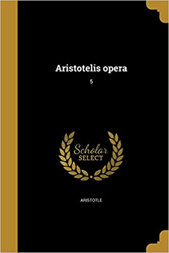 Book Aristotelis Opera; 5 (Ancient Greek Edition)