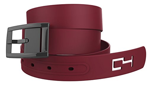 Hocus Pocus Cosplay (Maroon Belt and Black Chrome Buckle - Great for Harry Potter or Hocus Pocus or Similar Halloween or Cosplay)