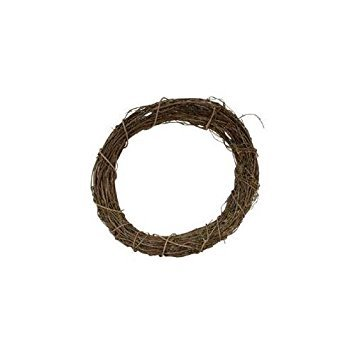 Darice Bulk Buy Grapevine Wreath 12 inch Bulk GPV12 (3-Pack)