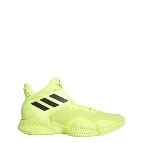 Adidas Explosive Bounce 2018 - Zapatillas de Baloncesto para Hombre, Solar Amarillo/Blanco/Negro, 10.5 M US