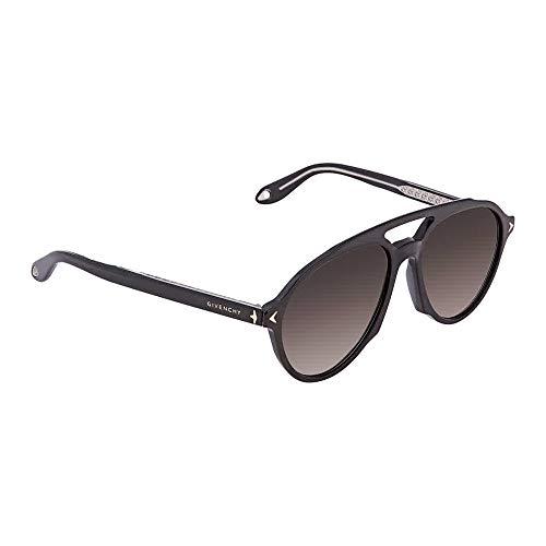 Givenchy GV7076/S 807 Black GV7076/S Pilot Sunglasses Lens Category 2 Size - Glasses Givenchy