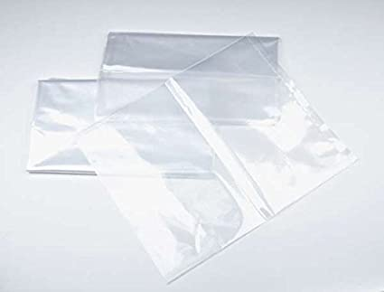 MagicWater Supply 20x40-1 mil 100 Pack Clear Plastic Flat Open Poly Bag
