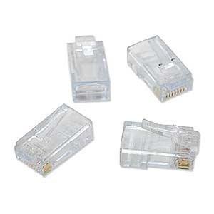 Platinum Tools 100010B EZ-RJ45 Cat6 Connector (2 Packs of 100) from Platinum Tools