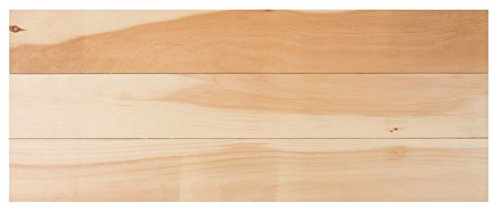 (Natural Wood Finish 26 x 10.5 Inch Pine Wood Craft Pallet)