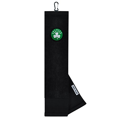 Team Effort NBA Boston Celtics Face/Club Tri-Fold Embroidered Towelface/Club Tri-Fold Embroidered Towel, NA by Team Effort